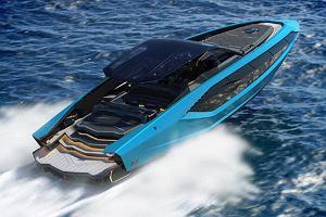 Lamborghini pokazało swój najnowszy jacht. Inspiracją był Lamborghini Sián FKP 37