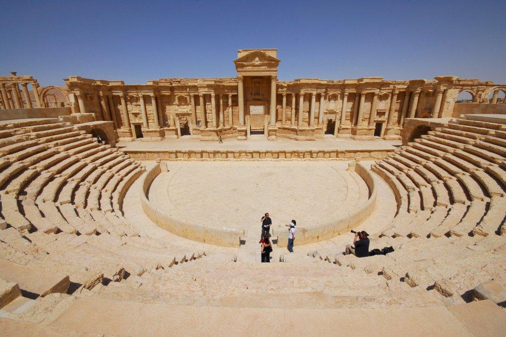 Palmira, teatr rzymski