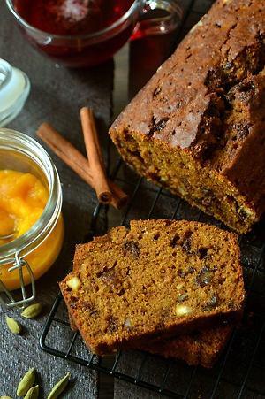Ciasto dyniowo - bakaliowe