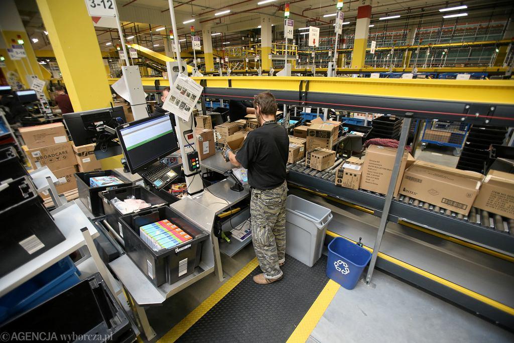 Centrum Logistyczne Amazon w Kołbaskowie