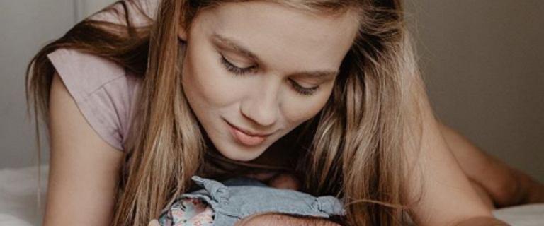 Kaczorowska podjęła decyzję o niepublikowaniu wizerunku swojej córeczki