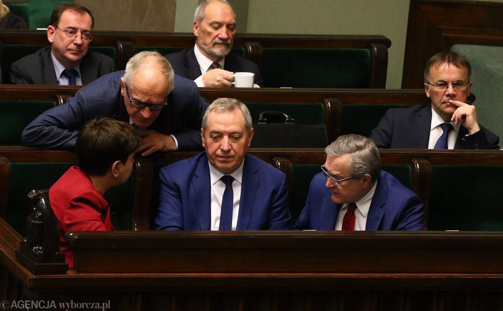 Minister Henryk Kowalczyk w Sejmie