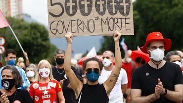 Brazylia. Trwają protesty przeciwko rządom Jaira Bolsonaro