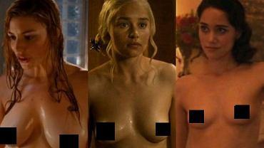 Emilia Clarke, Jessica Paré, Rachel Shelley