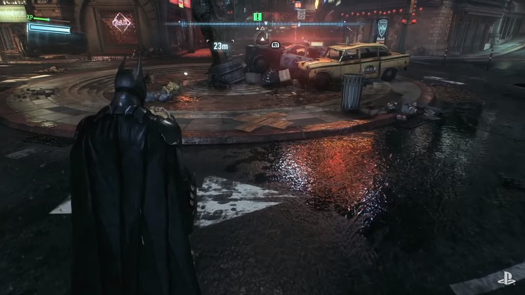 'Batman: Arkham Knight'. PS4 Game Footage