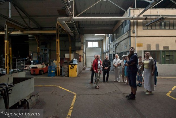 Zdjęcie numer 18 w galerii - Zwiedzali 150-letnią fabrykę obrabiarek na Wilczaku [ZDJĘCIA]