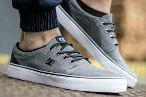 Sneakersy męskie marki DC - buty, które pokochali nie tylko skaterzy!