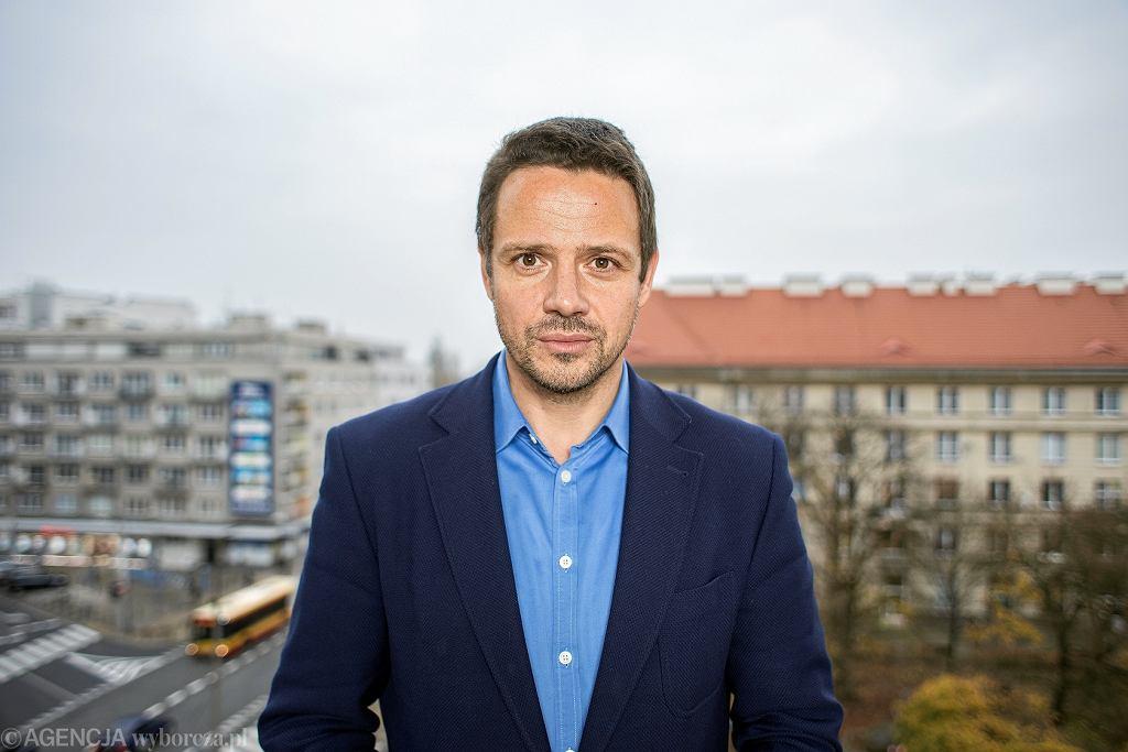 Portret Rafała Trzaskowskiego
