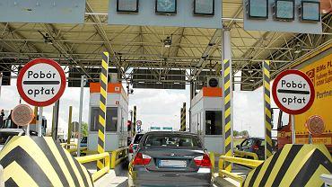 Punkt poboru opłat na autostradzie A4 w Gliwicach