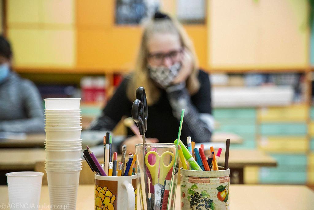Szkoły podczas pandemii (zdjęcie ilustracyjne)