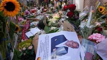 Amsterdam, miejsce, w którym 6 lipca postrzelono dziennikarza Petera R. de Vriesa, tuż po jego wyjściu ze studia telewizyjnego