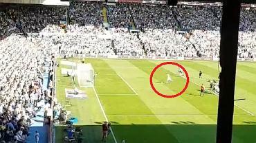 Mateusz Klich w meczu z Derby County