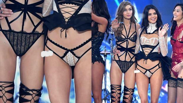 Zdjęcie numer 7 w galerii - Victoria's Secret 2016. Gigi o włos od MEGA wpadki, a Kendall? Tak skąpych majtek nie widzieliście!