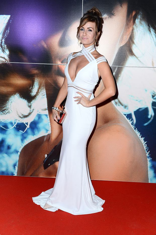 Patrycja Wieja na imprezie magazynu 'Playboy'