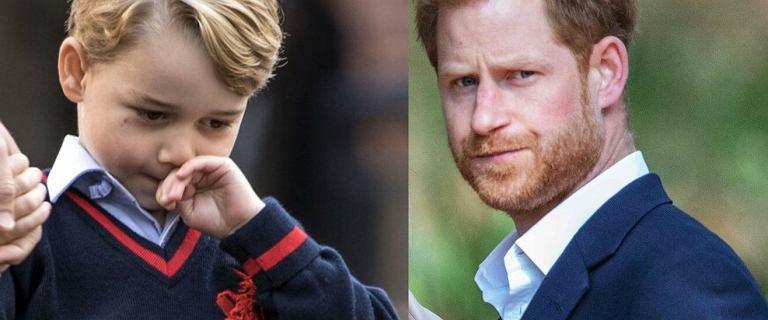 Książę George napisał list do wujka. Czy książę Harry zareaguje na apel dziecka?