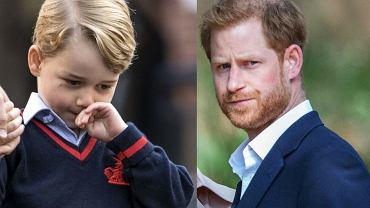 Książę George / książę Harry
