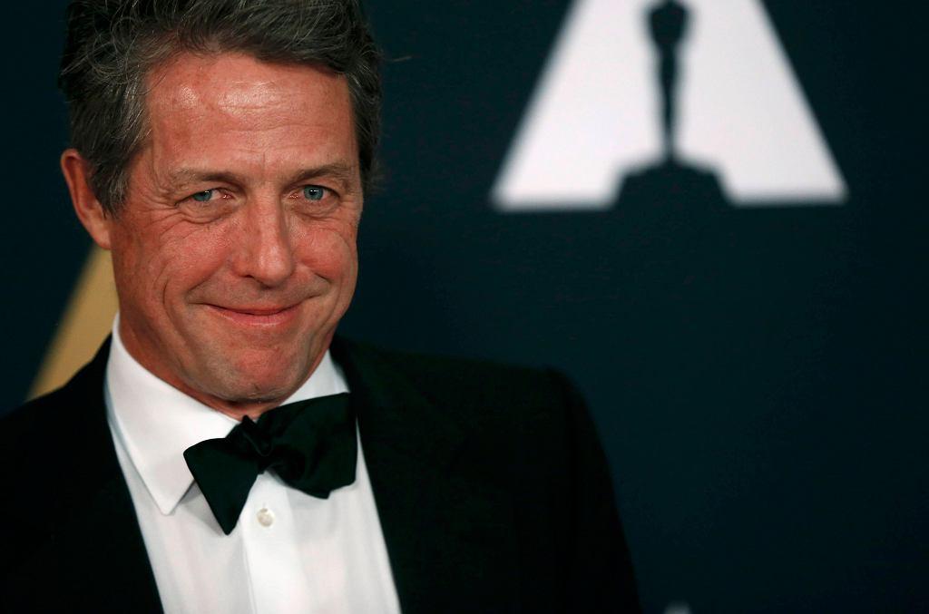 Hugh Grant w Los Angeles. Aktor będzie gościem Europejskich Nagród Filmowych we Wrocławiu