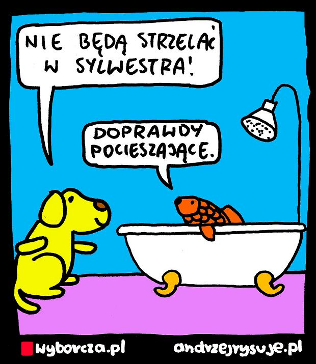 Andrzej Rysuje   FAJERWERKI - Andrzej Rysuje   6.12.2018 -