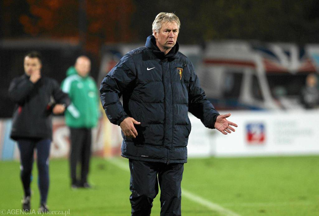 Trener Jan Kocian