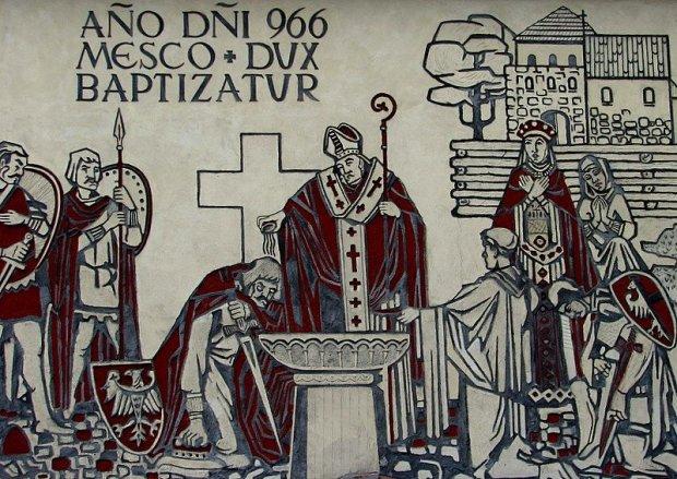 Zdjęcie numer 4 w galerii - 1050. rocznica chrztu Polski. Bez brody, z wąsem, albo z papierosem - różne wizerunki Mieszka I