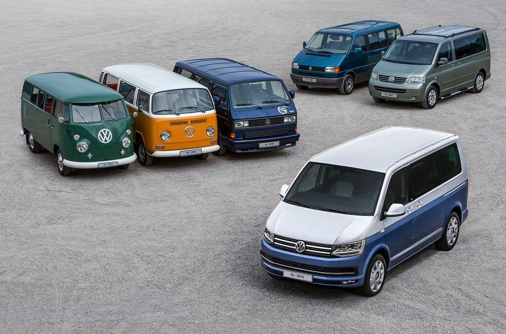 Rodzina użytkowych Volkswagenów