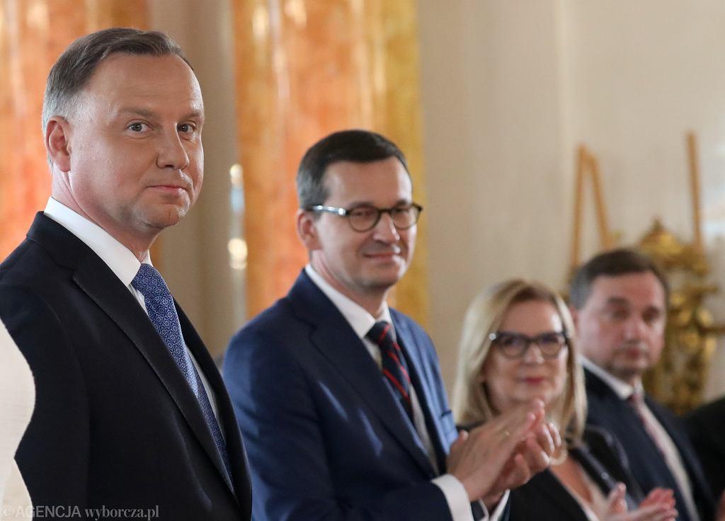Andrzej Duda i Mateusz Morawiecki.