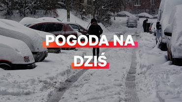 Prognoza pogody na dziś - środa 2 stycznia. W wielu miejscowościach spadnie śnieg