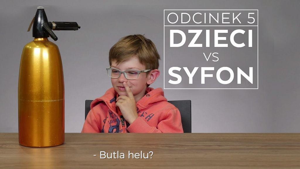 Dzieci vs syfon