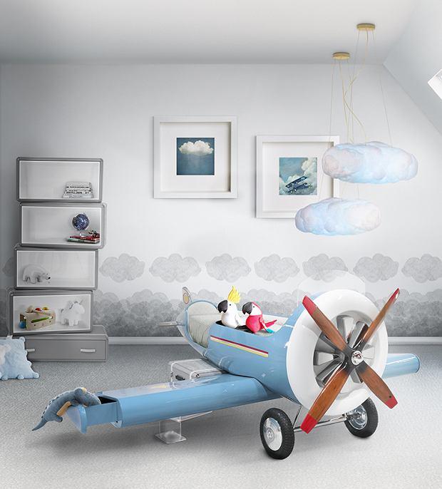 Łóżko dziecięce samolot