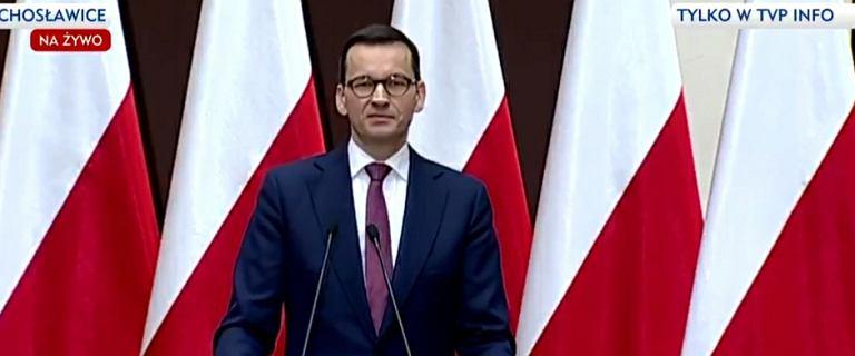 Premier Mateusz Morawiecki zabrał głos po pogrzebie Pawła Adamowicza