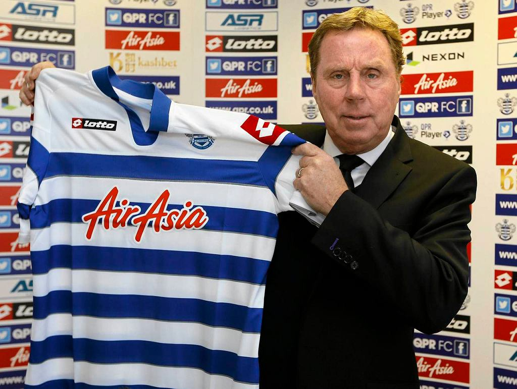Trener QPR Harry Redknapp