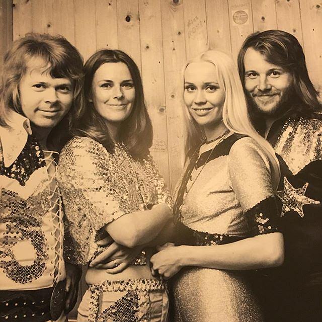 Szwedzka grupa ABBA / fot. instagram.com/abbaofficial/