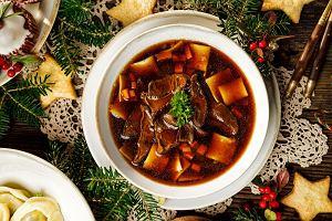 Zupa grzybowa wigilijna - doskonała świąteczna zupa