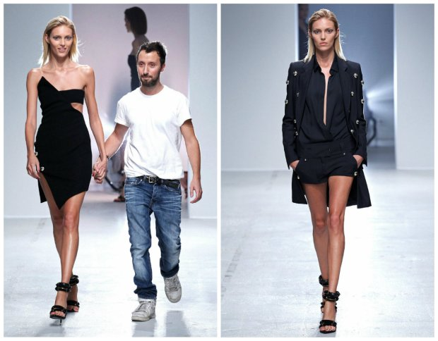 Anja Rubik, Anthony Vaccarello