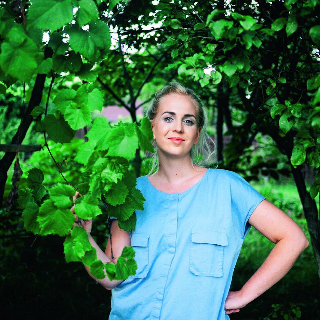 Marta Dymek - wielbicielka roślin, autorka bloga jadlonomia.com, programu 'Zielona rewolucja' (kuchnia+)oraz fantastycznej książki 'Jadłonomia. Kuchnia roślinna - 100 przepisów nie tylko dla wegan'.