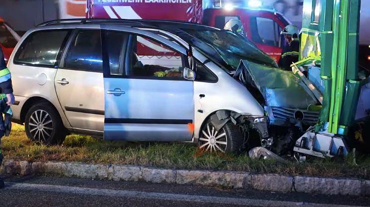 Śmiertelny wypadek polskiego kierowcy na autostradzie A1 w Austrii. Źródło: laumat.at media e.U./ YouTube