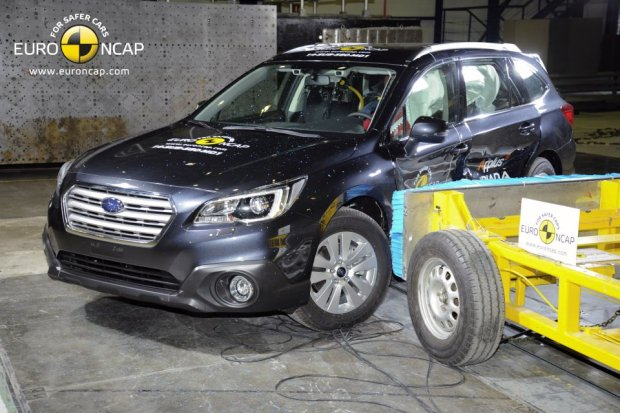 Subaru Outback (fot. Euro NCAP)