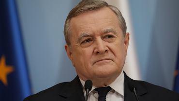 Wicepremier i minister kultury w rządzie PiS Piotr Gliński