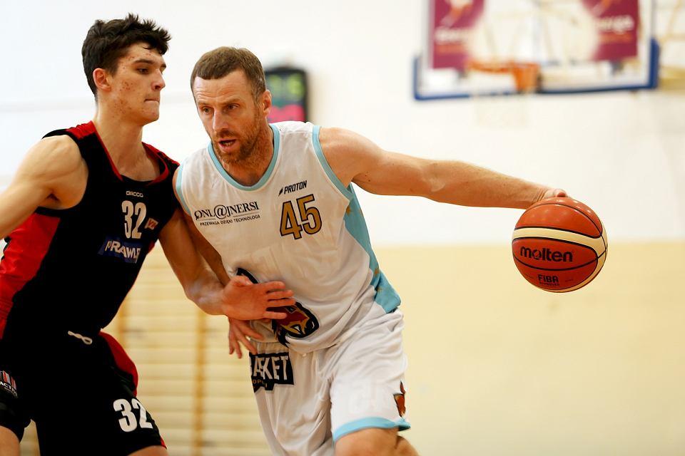 Koszykarska drużyna Onlajnersi Kangoo Basket Gorzów w rozgrywkach męskiej trzeciej ligi w sezonie 2020/21