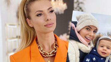 Izabela Janachowska zabrała syna na spacer