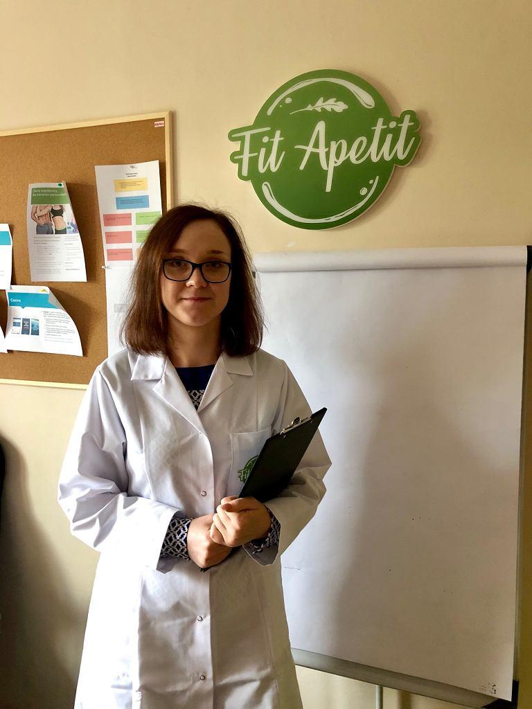 Emilia Pilchowska, dietetyczka kliniczna