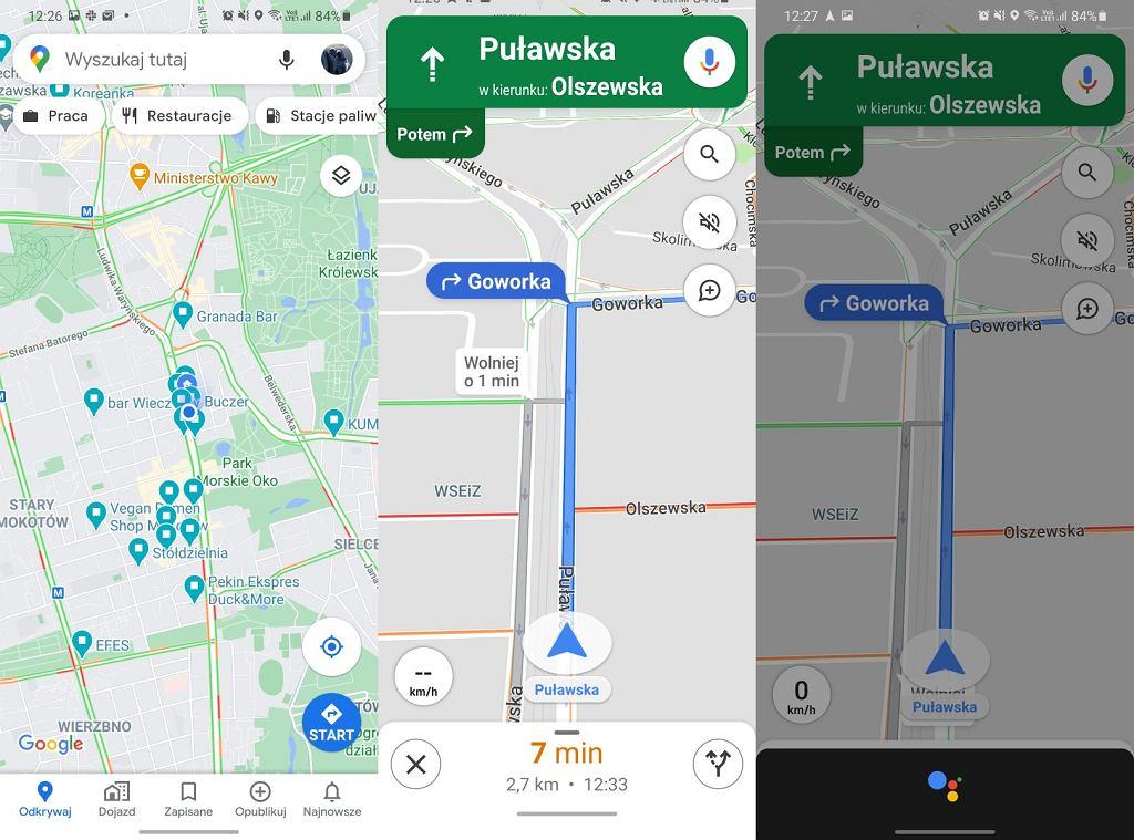 Nowe mapy Google