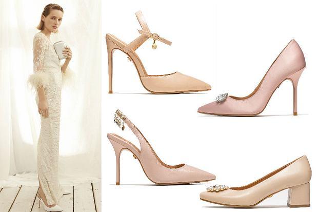 Buty ze ślubnej kolekcji Kazar