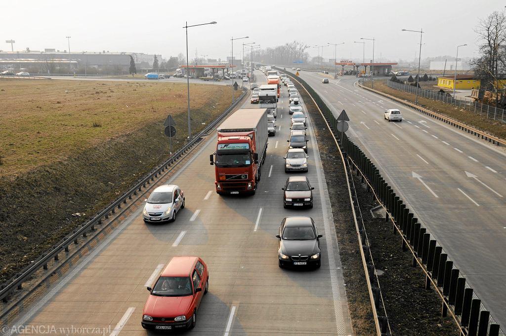 Autostrada A4. Stłuczka na trasie w kierunku Legnicy (fot. ilustracyjna)