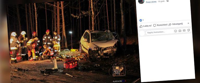 Kościerzyna: W samochodzie zginęli rodzice, przeżyły jedynie dzieci