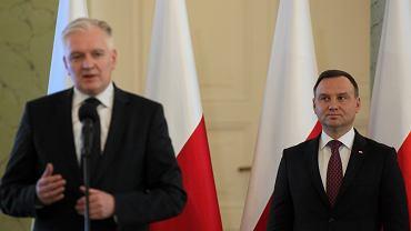 Jarosław Gowin, Andrzej Duda