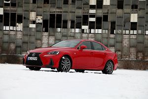 Prześwietlamy wyprzedaż rocznika 2018 - Lexus IS