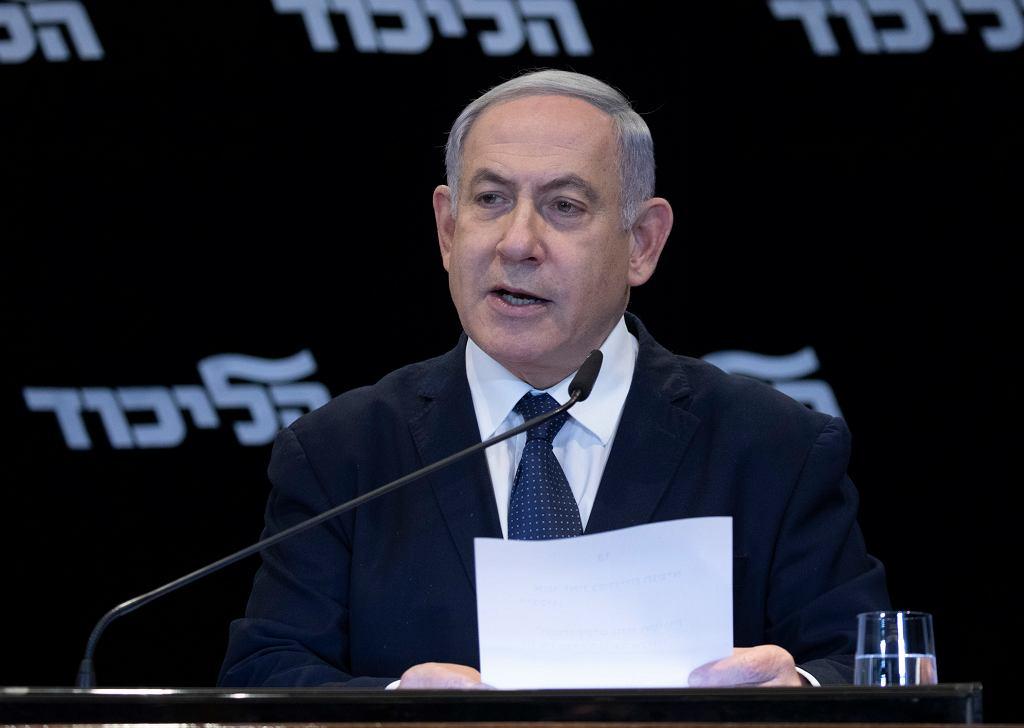 Benjamin Netanjahu/ Fot. Ohad Zwigenberg / AP Photo