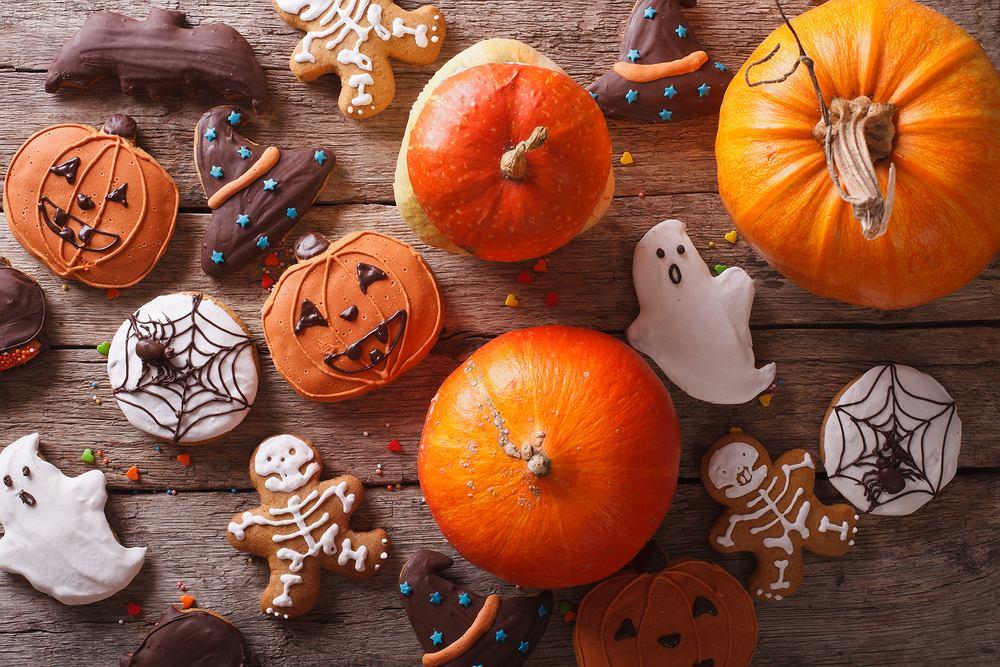 Desery na Halloween. Zdjęcie ilustracyjne