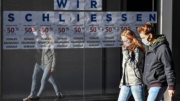 Twardy lockdown w Niemczech.